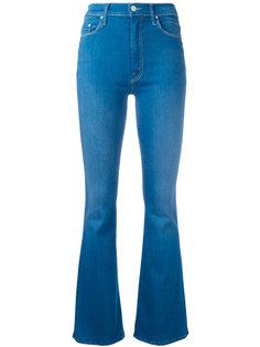 расклешенные джинсы Mother