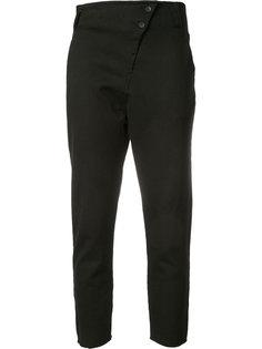 брюки со смещенной застежкой Thom Krom