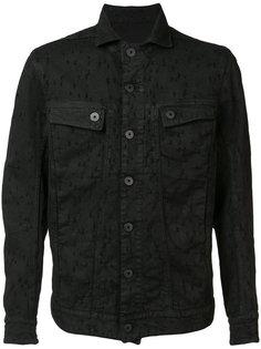 джинсовая куртка с вышивкой 11 By Boris Bidjan Saberi