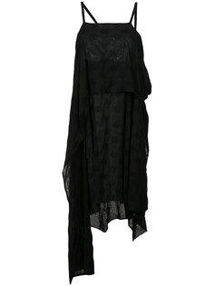асимметричное платье в горох Lost & Found Ria Dunn