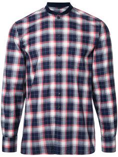рубашка James в клетку Maison Kitsuné