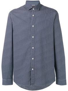 рубашка с мелким геометрическим узором Michael Kors