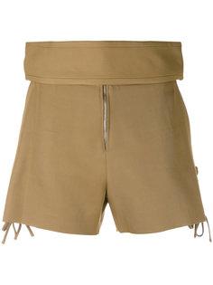 шорты с широким поясом Iro