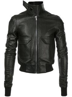 куртка-бомбер с удлиненным воротником  Rick Owens