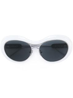 солнцезащитные очки с массивной круглой оправой Sacai