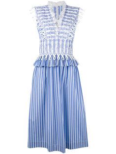 платье в полоску  Ermanno Scervino