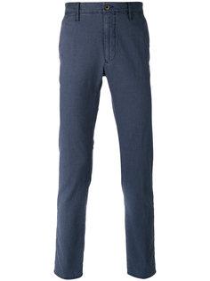 брюки с узором Incotex