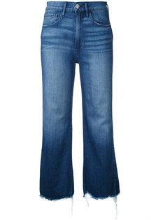 укороченные джинсы клеш 3X1