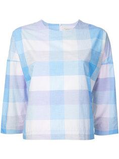 рубашка в клетку Maison Kitsuné