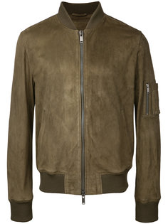 замшевая куртка-бомбер Desa Collection