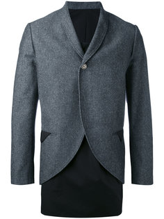 пиджак без застежки Aganovich