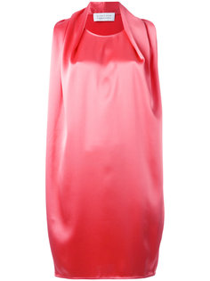 платье без рукавов с драпировками Gianluca Capannolo