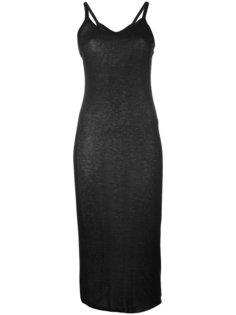 платье миди  Rick Owens Lilies