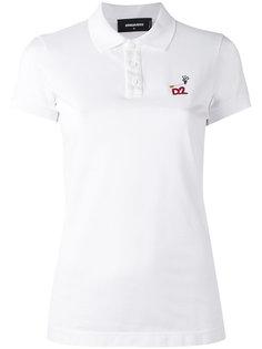 футболка-поло с логотипом Dsquared2