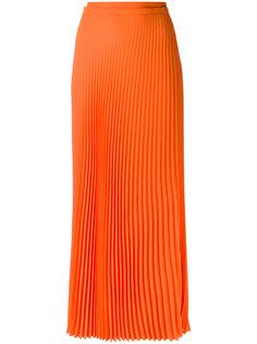 длинная плиссированная юбка Haider Ackermann