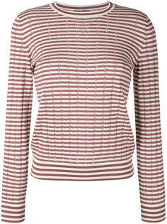свитер ажурной вязки в полоску Annabelle A.P.C.