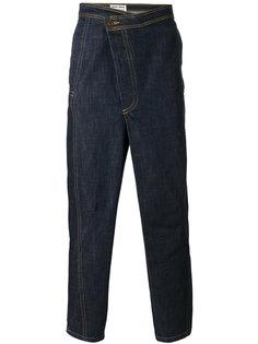 джинсы свободного кроя Jim Henrik Vibskov