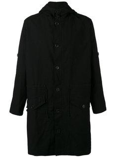 пальто средней длины с капюшоном Henrik Vibskov
