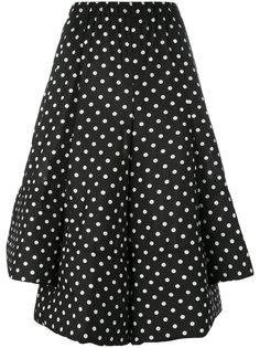 пышная юбка с узором в горох Comme Des Garçons