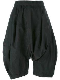 объемные шорты с заниженной проймой Comme Des Garçons