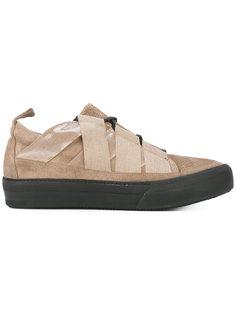 кроссовки с контрастной шнуровкой Damir Doma