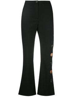 укороченные брюки с вырезными деталями Eudon Choi