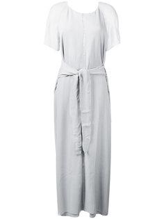 длинное платье с поясом Lorena Antoniazzi