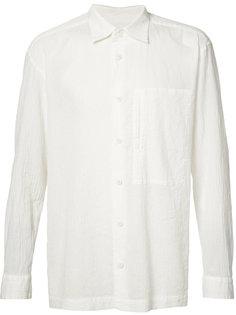 рубашка свободного кроя Issey Miyake