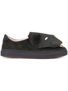 кроссовки с головой медведя Vivienne Westwood