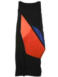 платье без рукавов с графическим принтом Issey Miyake