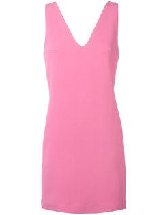 платье шифт с V-образным вырезом Dondup