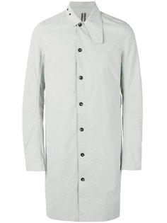 пальто миди с удлиненными рукавами  Rick Owens DRKSHDW