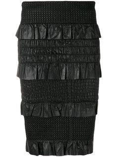 юбка-карандаш с оборками Drome