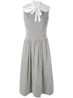 платье миди в полоску без рукавов Comme Des Garçons Comme Des Garçons