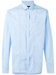 рубашка с простроченной отделкой Lanvin