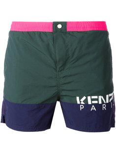 шорты для плавания с логотипом  Kenzo