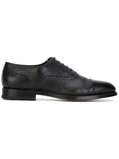 туфли со шнуровкой Santoni