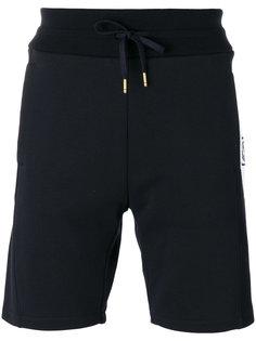 шорты с полосками по бокам Moncler Gamme Bleu