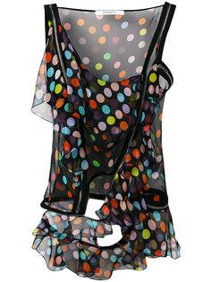 топ с открытым плечом Givenchy