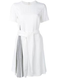 платье с плиссировкой  Emporio Armani