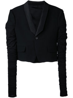 укороченный пиджак Rick Owens