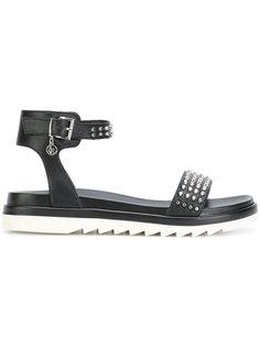 сандалии с заклепками Armani Jeans
