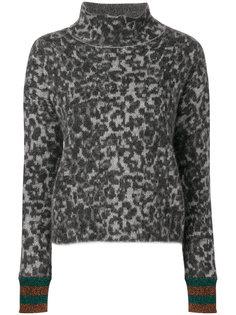 свитер с леопардовым узором By Malene Birger