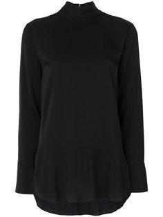 блузка с высоким воротом  By Malene Birger