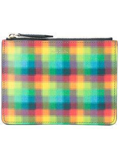 сумка на молнии с пиксельным узором Paul Smith