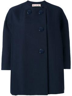 пиджак с рукавами три четверти Marni