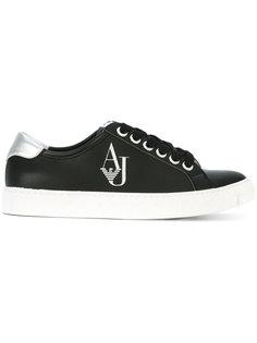 кроссовки с логотипом Armani Jeans