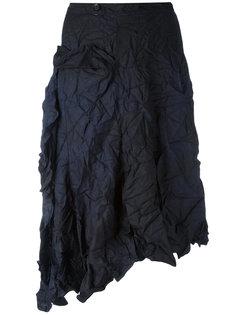 асимметричная юбка миди Yohji Yamamoto