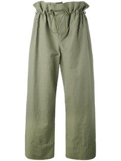 брюки с присборенной талией Stella McCartney