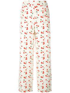пижама с узором из вишен Chinti & Parker